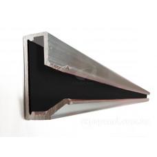 Вставка в Т-паз, алюминиевая с цветным вкладышем, L= 900мм