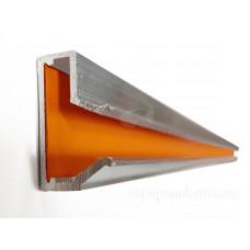 Вставка в Т-паз, алюминиевая с цветным вкладышем,  L=1220мм