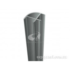 Профиль угловой, алюминиевый, H=1390мм